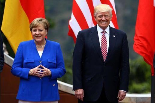 Меркель с Трампом поговорили об Украине