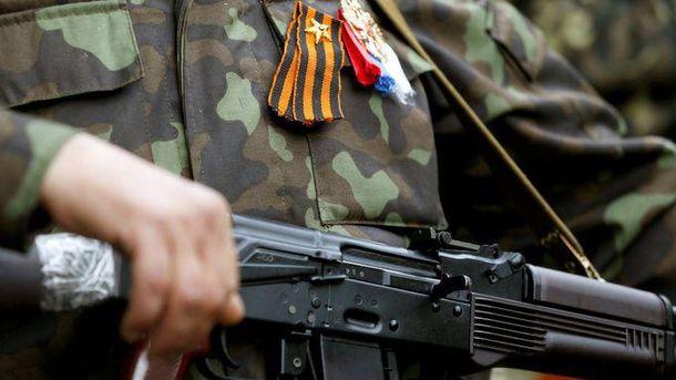 Задержанный боевик два года воевал против Украины