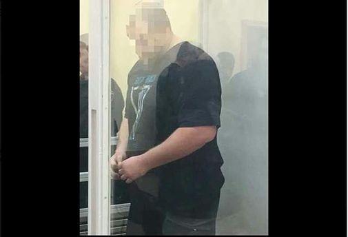 Подозреваемого в убийстве мотоциклиста в Киеве взяли под арест