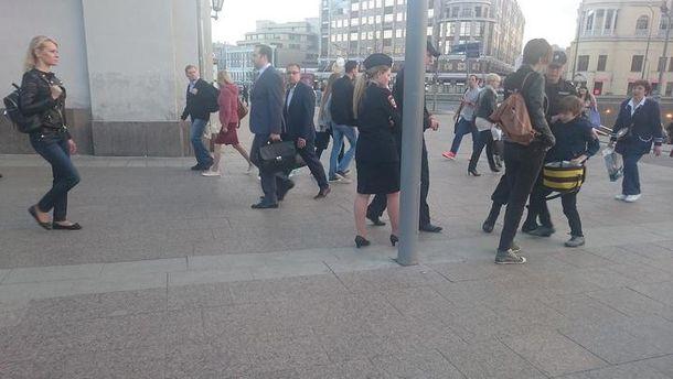 Задержание мальчика в Москве