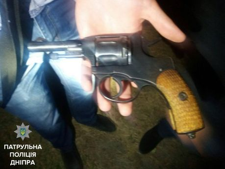 У нападающих нашли оружие