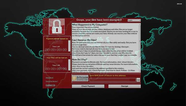 Вирус WannaCry создали в Южной Азии