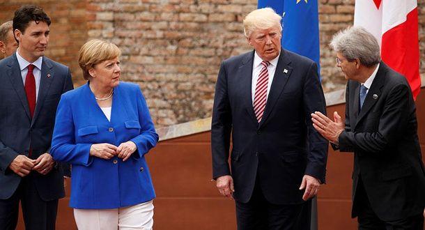 Саммит G7 на Сицилии: Трамп