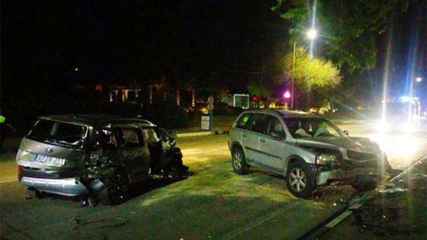 Аварія в Іспанії