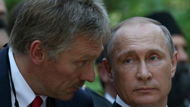 У Путіна відреагували на обшуки в