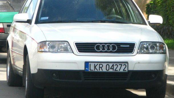 Авто на іноземній реєстрації