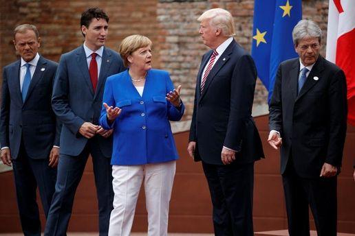 Саммит G7: Ангела Меркель разочарована позицией Трампа
