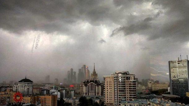 Ураган над Москвой