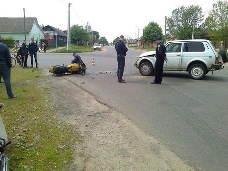 Аварія на Чернігівщині