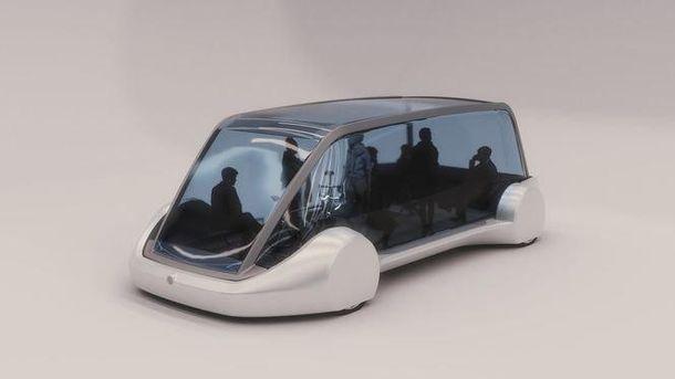 Микроавтобус для подземных тоннелей
