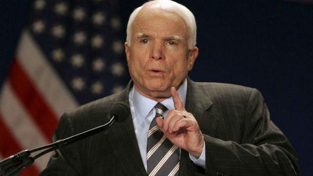 Маккейн назвал Путина большей угрозой, чем ИГИЛ