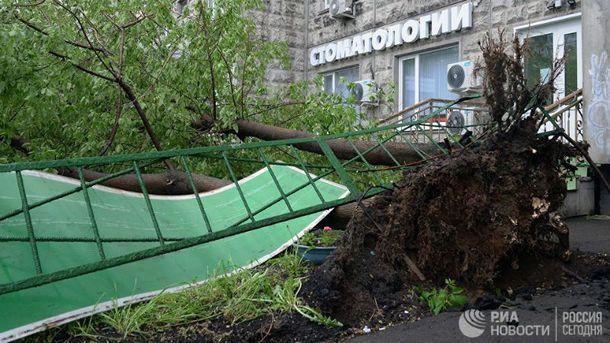 Смерч в Москве