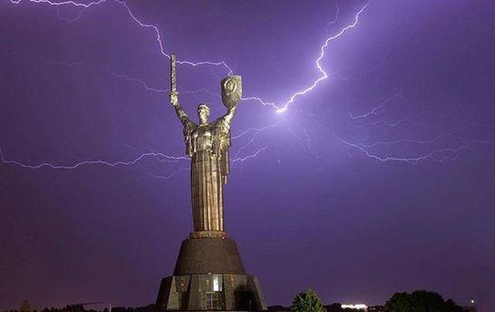 В Киеве пройдет гроза