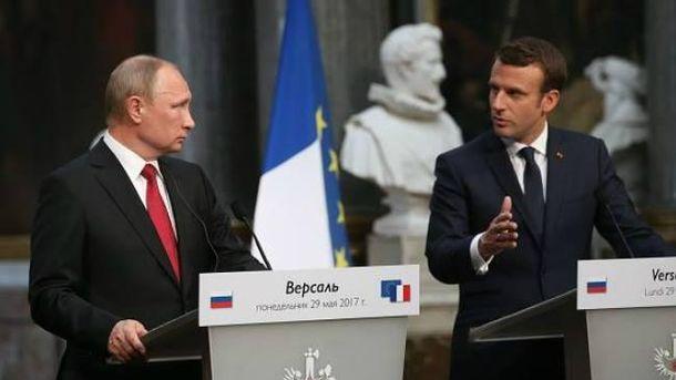 Зустріч Путіна і Макрона: президент Франції зробив 3 серйозних заяви