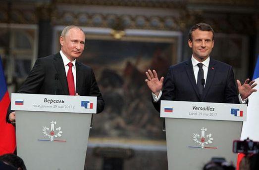 Макрон змусив Путіна провести зустріч нормандської четвірки