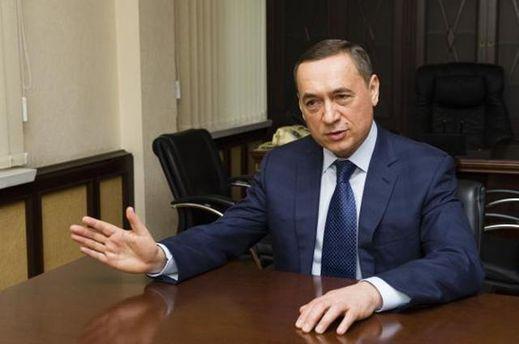 Майно Миколи Мартиненка арештоване судом