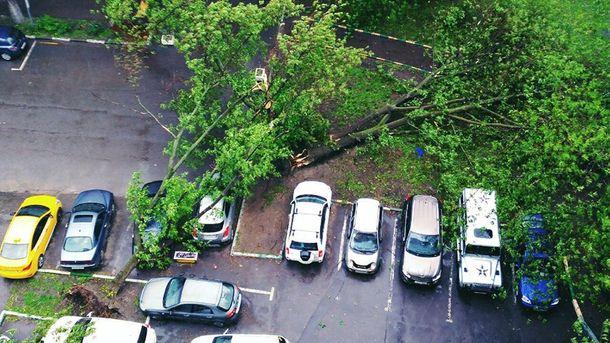 Наслідки урагану у Москві