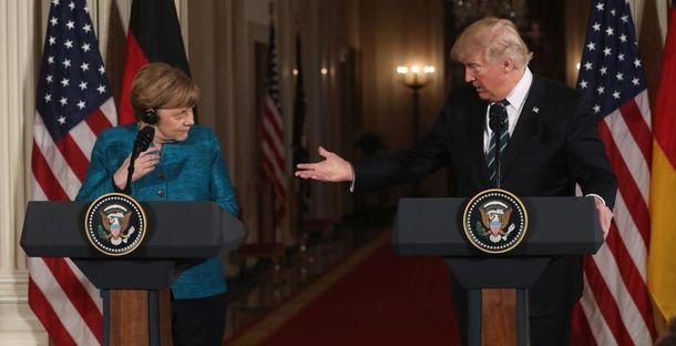В Білому Домі поспішили залагодити стосунки з Німеччиною після слів Трампа