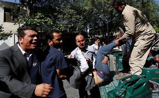 Від вибуху в Кабулі загинули і постраждали чимало людей