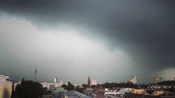 Негода у Берліні