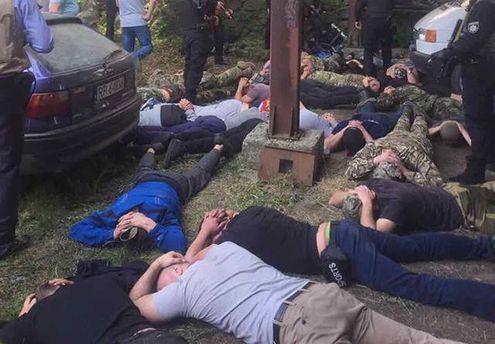 Полиция в Винницкой области задержала участников рейдерского захвата фермерского предприятия