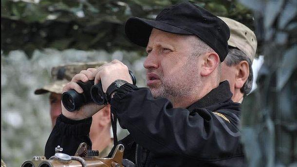 Турчинов повідомив про втрати на фронта у травні