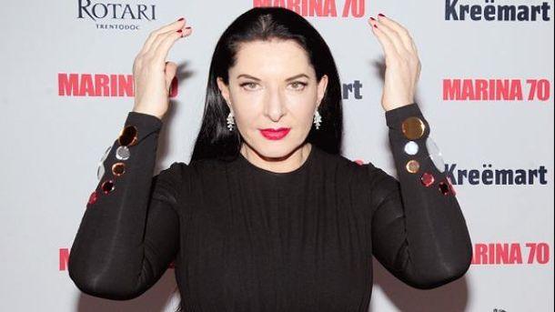 Марина Абрамович проведет в Киеве перфоманс