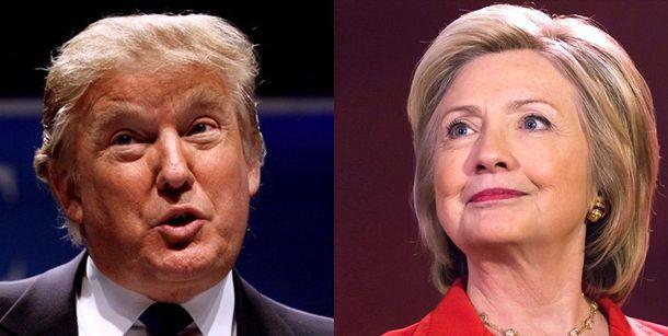 Между Клинтон и Трампом в Твиттере возник забавный спор