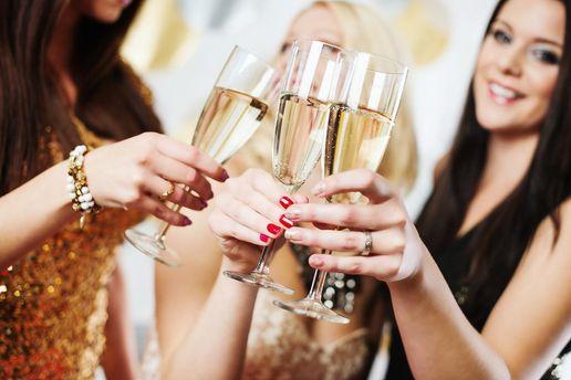 Шампанское успокаивает нервы
