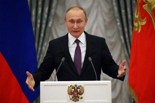 Путін переконаний у своїй безпеці
