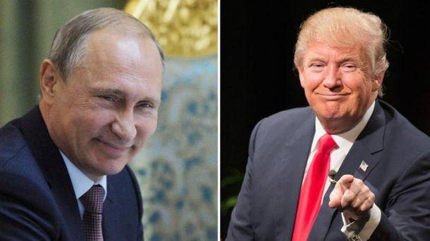 Владимир Путин, Дональд Трамп