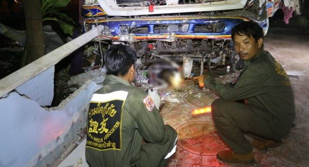 Смертельна аварія у Таїланді
