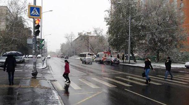 Снег в Москве сегодня, 2 июня 2017 года