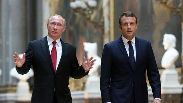 Макрон зацікавлений у співпраці з Путіним щодо газового питання