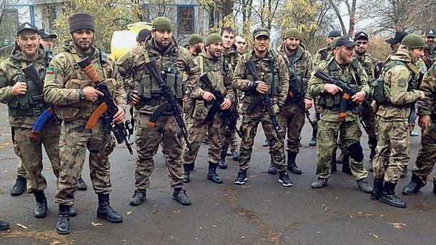 Кадирівці на Донбасі