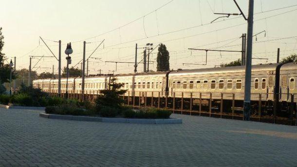 Поезд Ковель - Холм (Иллюстрация)