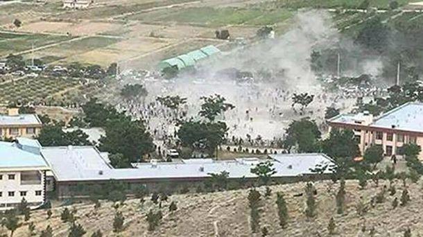 Взрывы на похоронах в Кабуле