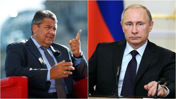 Зустріч глави МЗС Німеччини та Володимира Путіна