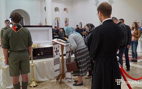 В Киеве проходит прощание с главой УГКЦ Любомиром Гузаром