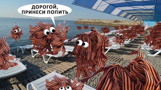 За провалом курортного сезону у Криму можна стежити онлайн