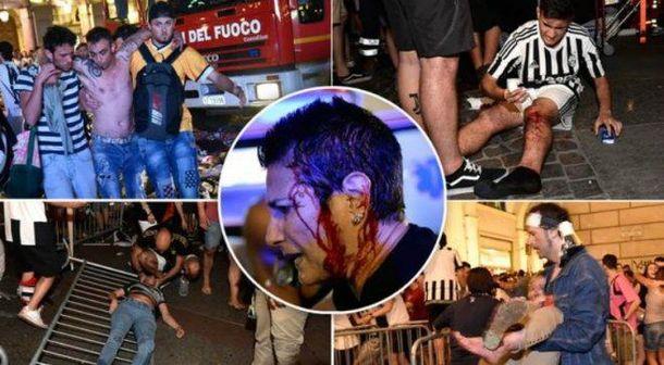 Понад 1500 осіб постраждали у фан-зоні в Турині через тисняву
