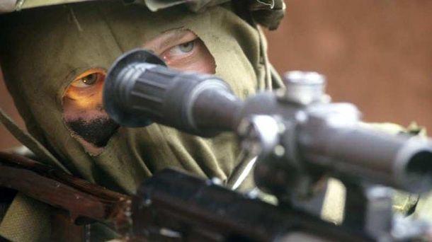 Снайперы боевиков активизировались на Донбассе