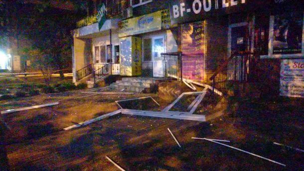 Взрыв в Вышгороде: