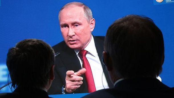 Путин резко