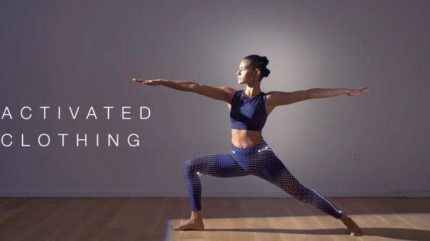 Розумні лосини для йоги