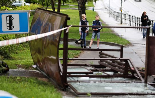 В Москве бушевал ураган