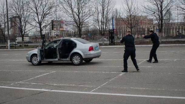 Перестрелка на трассе под Киевом (Иллюстрация)