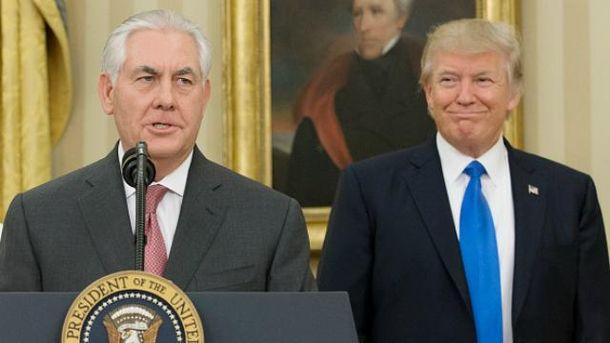 Тіллерсон: Трамп доручив мені відновити відносини зРосією