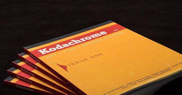 Kodak выпустили журнал о фотографии