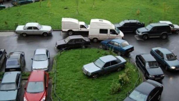 Штрафы за неправильную парковку